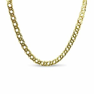 """Pre-owned 9ct Gold Double Linked Curb Chain 16"""""""