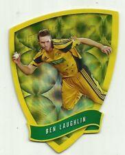 Cricket Australia Select 2009/10 DIE CUT FDC56 BEN LAUGHLIN TWENTY 20 TEAM CARD