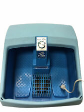 Clairol THE FOOT FIXER Heat & Massage Vibrating Foot Spa Bath TESTED works great