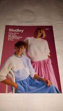Vintage/Retro Knitting Pattern Studley  Jumper 1231