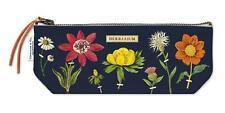 Cavallini - 100% Coton Naturel Vintage Mini Sac Pochette - 10x23cms - Herbier