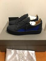 GIUSEPPE ZANOTTI  Low Top Trainers with Contrasting Panel Size UK 7/EU41