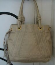 A Genuine Ri2k Ladies Large Tote Soft Leather Shopper Handbag. 'Eaves'. Oyster.