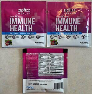 Zipfizz Immune Health Berry Flavor **3 Pack** Exp 09/2022