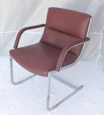 siege fauteuil de bureau vintage cuir armchair