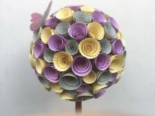 Paper flower topiary tree/Table Centrepiece/Table Decoration/Wedding/Gift/30cm