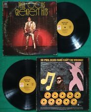 LP 33 Giri Phil Ochs Greatest Hits ROCK'N ROLL FOLK USA 1970 no cd mc dvd vhs