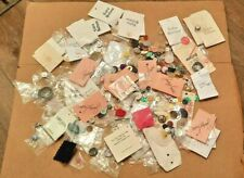 Huge Lot of Vintage Buttons Collection Clothing Sewing Button & Card Lot