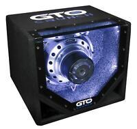 CRUNCH GTO-10BP GROUND POUNDER 25cm Single-Bandpass Subwoofer 600 Watt