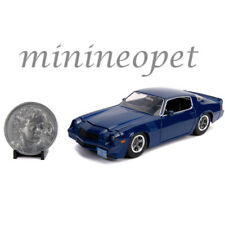 JADA 31110 HOLLYWOOD STRANGER THINGS BILLY'S 1979 CHEVROLET CAMARO Z28 1/24 BLUE