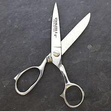 "6"" HEAVY DUTY STAINLESS STEEL TAILOR UPHOLSTERY SCISSORS Shears Utlity Sewing"