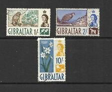 Used Single Gibraltar Stamps