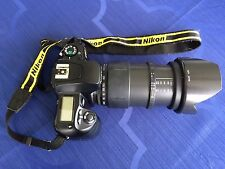 Nikon F60 F60D SLR, TAMRON 28-200mm F3.8-5.6 w/LensHood & LowePro Bag