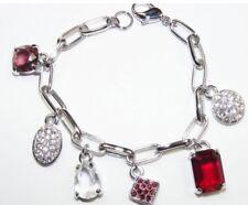 Swarovski Charm Bracelet - 6 Charms