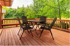 Rattan Garden Dining Set 4 Seater Table And Chairs Outdoor Patio Furniture