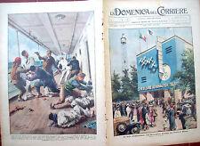 262) 1934 ESPOSIZIONE AREONAUTICA A MILANO E PIRATI A TIEN TSIN DOMEN. DEL CORR.