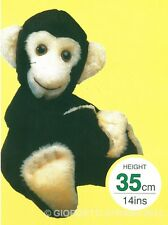 Peluche pupazzo SCIMMIA altezza 35cm set da cucire costruire bambolotto monkey