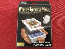 TENYO FLOATING CARD- T-238- Brand New in the Factory Sealed ENGLISH Box!