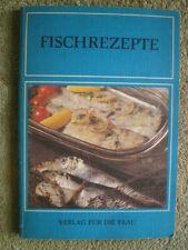 Fischrezepte - DDR Kochbuch Sakuski, Fischsuppe, Fisch gebacken, Pastete