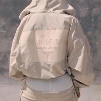 NEW INS FOG 6th Collection Fear of God Jacket Winbreaker Coat Zipper Hoodie Tops
