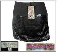 River Island Ladies Sequin Skirt size 12 Black Excellent condition