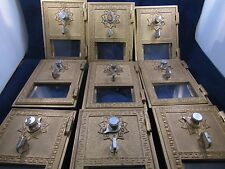 Vintage Post Office Box Doors (10 each)W/Combos & Instructions