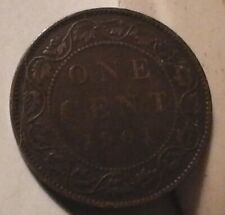 1901 1 Cent Canadian