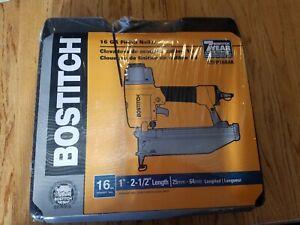 "Bostitch 16 gauge Finish Nailer Straight Nail 1""-2.5"" NEW! BTFP1664K"