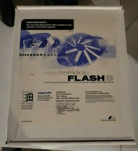 Macromedia Flash 5 Freehand 9 Studio for Windows NT Windows 98 Complete Upgrade