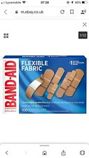 Band-Aid Brand Flexible Fabric Adhesive Bandages for Wound Care and First Aid,