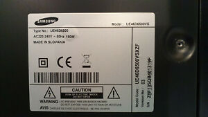 Samsung Carte électronique Alimentation TV UE 46D6500
