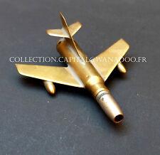 Miniature d'Avion Militaire, faites à la base Cartouche, balle. Guerre d'Algérie