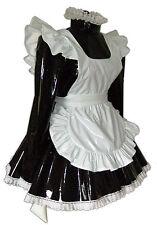 Louisa PVC Locking Sissy Uniform MAID 4U