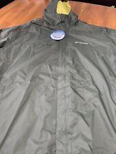 Columbia Men's 2XL Watertight Waterproof Breathable Rain Jacket Packable New