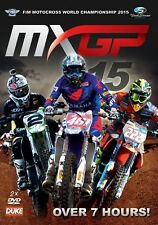 WORLD MOTOCROSS 2015 DVD (2 Discs). ROMAIN FEBVRE. MX GP. 473 Mins. DUKE 2359N