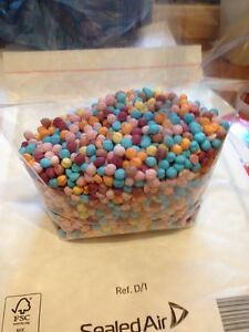 Mixed Flavour Millions 1kg  In A Clear Bag Retro Sweets Vegetarian Approved