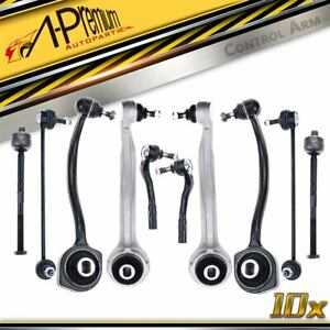 10x Front Upper Lower Control Arm Kit for Mercedes Benz W203 C209 R171 2000-2011