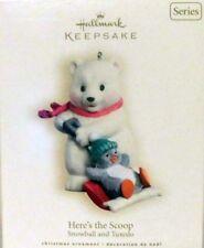 Hallmark 2007 Snowball & Tuxedo #7 Here's The Scoop MIB Keepsake Ornament