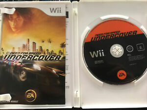 Need for Speed Undercover Wii Tested Working Complete + Manual Free post