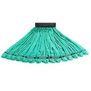Rubbermaid Commercial Product Maximizer #24,Microfiber,Large Green Mop Tube Head