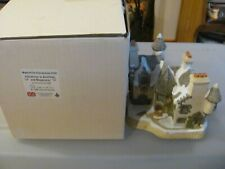 Christmas in Scotland and Hogmanay David Winter Cottages Collectors Guild w Coa