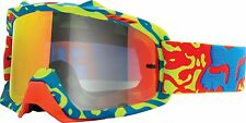2016 Fox Racing Air Space Cauz Youth MX Motocross Offroad Y/RD Goggles 15360-901
