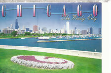 Chicago   View of the Chicago Yacht Harbor   Illinois      Postcard 8916