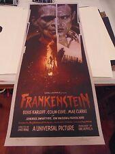 Drew Struzan Frankenstein Art Poster Print Ken Taylor Universal Monsters