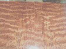 "Waterfall Bubinga (Kewazinga) wood veneer 48"" x 132"" with wood back 1/32"" thick"