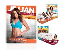 Jillian Michaels Body Revolution Box Set + Guides + EXTRAS + WARRANTY