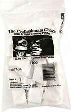 Gun Cleaning Patches 1000 Pack Cotton Rifle Pistol Revolver Shoot Bullets Range
