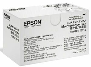 Epson T6716 Maintenance Box Workforce WF C5210 C5290 DW C5710 Resttintenbehälter