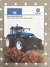 NEW Holland TM Serie BROCHURE TRATTORE FORD