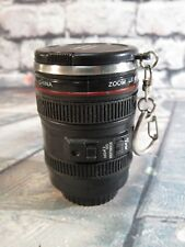 Camera Lens Travel Mug Stainless Steel Keychain Cup